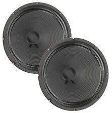 "Pair Eminence Private Jack 12"" Guitar Speaker Red Coat 16 ohm 100dB Replacement"