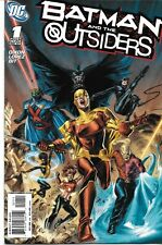 BATMAN  AND THE OUTSIDERS 1  2  3  4  5   NM 2007