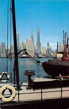 New York City, Port, steamship lines, boats, harbour