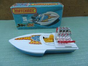 Matchbox Lesney 1-75  No.5B - Seafire Boat