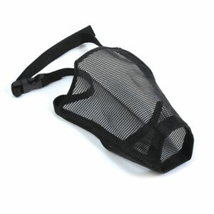 ANCOL Nylon Mesh DOG MUZZLE BREATHABLE MESH MUZZLE SMALL, MEDIUM AND LARGE