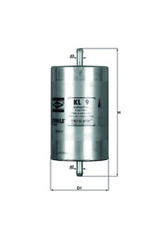 Kraftstofffilter - Mahle KL 9