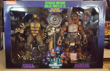 NECA Teenage Mutant Ninja Turtles Tokka and Rahzar Figures
