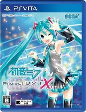 NEW PS VITA Hatsune Miku Project DIVA X SEGA GAMES FREE SHIPPING JAPAN IMPORT