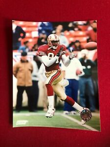 """Terrell Owens (49'ers), Licensed, Photo File  8"""" x 10"""" Color Photo (Vintage)"""