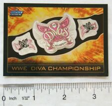 2008 Topps Slam Attax Smack Down title card WWE Diva Championship