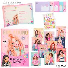 Depesche Topmodel Einladungskartenset Inklusive 35 Sticker 11149