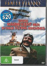 THOSE MAGNIFICENT MEN IN THEIR FLYING MACHINES - NEW DVD FREE LOCAL POST