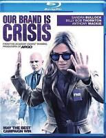 Our Brand Is Crisis Blu-ray Disc, 2016 Sandra Bullock Billy Bob Thorton