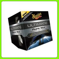 Meguiars Ultimate Paste Wax 311 g [G18211EU] 1 x Black Microfiber Cloth & 1x Pad