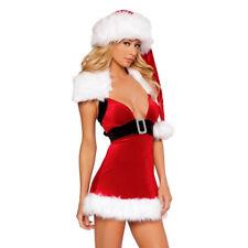 suzanjas Costume Natale incl. Berretto e cintura S-L lingerie vestito natale