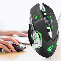 Freewolf Wireless X8 Silent 2.4GHz 2400DPI 6 Key Optical Mouse With USB Receiver
