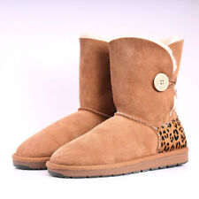 Premium Shearers UGG Single Button Sheepskin Ugg Boots Hand-Made In Australia