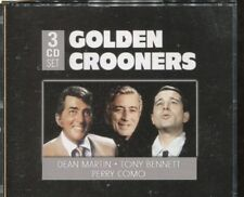 GOLDEN CROONERS - DEAN MARTIN - TONY BENNETT - PERRY COMO on 3 CD's -  NEW