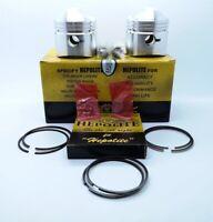 Hepolite Complete Piston Kit 9-1 +20 Triumph T100 Unit 500cc 68 to 75 OEM:18786