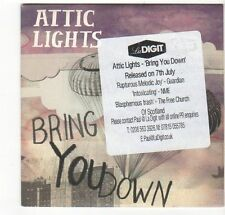 (EZ430) Attic Lights, Bring You Down - 2008 DJ CD