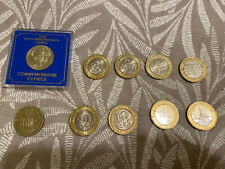 More details for rare 2 pound coin job lot x 10 inc king james bible olympic & navy ww