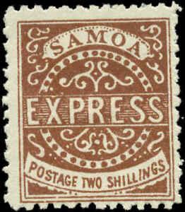 Samoa Scott #7a Mint No Gum   Type II  FAKE!!