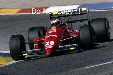 Gerhard Berger Ferrari F1/87-88C French Grand Prix 1988 Photograph 2