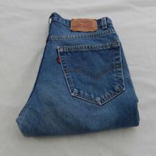 "Levi Strauss 517 Slim Fit Bootcut Jeans Cintura 30"" pierna 30"" cierre de cremallera (M6930)"