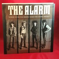 "THE ALARM Where Were You Hiding When The Storm Broke? 1984  UK 12"" vinyl single"