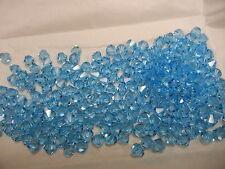 72 swarovski crystal beads,6mm aquamarine #5301