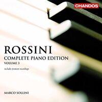 Gioachino Rossini - Rossini: Complete Piano Edition, Vol. 3 [CD]