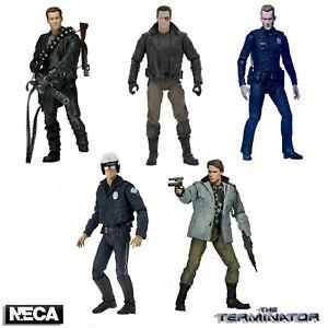 "NECA Terminator 2 Ultimate T-800 7"" Scale Action Figure Official Tech Noir New"