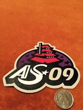 All Star AS 09 shoulder AHL Hockey Crest Patch Logo 4 by 3 inches