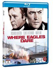 Where Eagles Dare Blu Ray (Region Free)