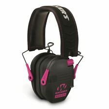 Walkers Razor Slim Electronic Shooters Ear Muff 23db Nrr Black/Pink