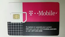 First Month 6Gb of 4G Lte Data Preloaded T-mobile Mobile Internet Prepaid Sim
