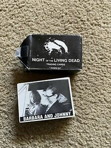 Night Of The Living Dead Trading Cards, Complete Set, 1987.Rosem Ent