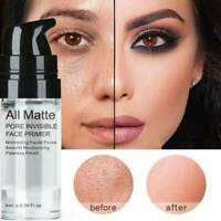Matte Face Primer Base Liquid Natural Foundation Pores Oil control Invisible US