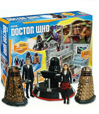 DOCTOR WHO TIME ZONE COLLECTION BUNDLE INTO THE DALEK 5 FIGURES RRP £49.99