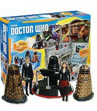 Doctor Who Paquete de colección de zona horaria en el Dalek 5 figuras RRP £ 49.99