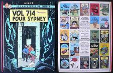 Tintin T22 - Vol 714 Pour Sydney - Hergé - Eds. Casterman - 1978 - C3