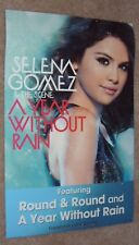 Selena Gomez poster - A Year Without Rain  - promo poster - 11 X 17 inches