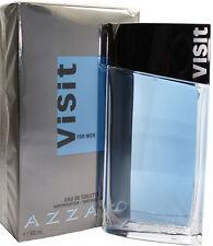 AZZARO VISIT BY AZZARO 3.4/3.3 OZ EDT SPRAY FOR MEN NEW IN BOX