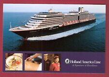 MS EURODAM ... HAL post card A Signature of Excellence
