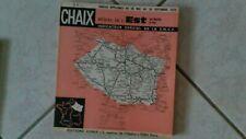 CHAIX/ INDICATEUR horaires OFFICIEL SNCF  REGION EST été 1974 port gratuit
