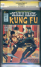 Deadly Hands of Kung Fu #17 CGC NM- 9.2 Neal Adams Signature Series Bruce Lee