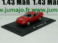 IT14G Voiture 1/43 déagostini ABARTH : 1000 Bialbero 1963