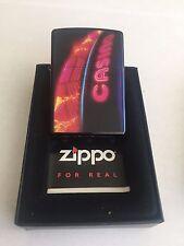 "Neon Zippo Lighter Casino Series ""Luck Be A Lighter"" 20613 - Very Rare Brand New"