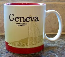 NWT Starbucks GENEVA Switzerland Global Icon City Collector Series Mug with SKU