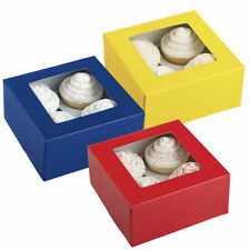 Primary Colors 4 Cavity Box 3 ct from Wilton 0941 NEW