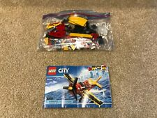 Lego City 60144 Race Plane - 100% with instructions, Vgc