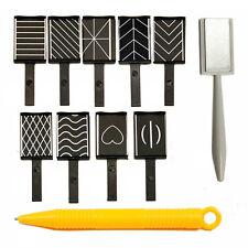H1 11pcs/set Nail Art Tool Magnet Pen for DIY Magic 3D Magnetic Cats Eyes Polish