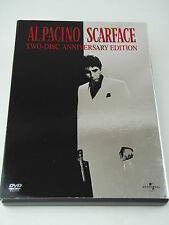 Scarface Anniversary Edition - DVD 2003 - Two Disc Set - EUC!