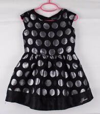 Guess Los Angeles toddler girls dress gray metallic black short sleeve size 4